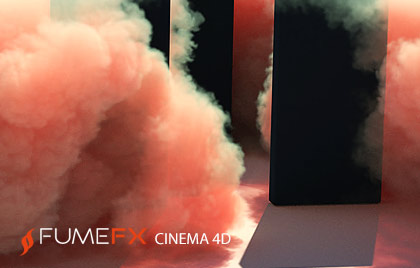 Clouds, fire, smoke and explosions Cinema 4D plugin