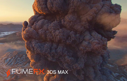 Fire, explosions, smoke and clouds 3ds max plugin