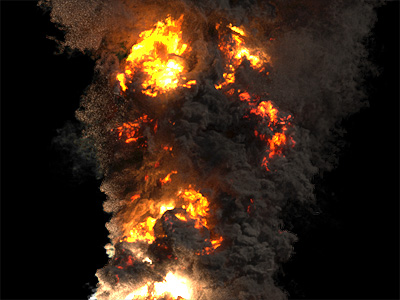FumeFX for Maya - Ultimate Explosions, Fire, Smoke Fluid